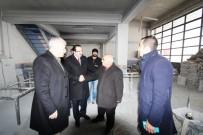 SANAYİ SİTESİ - Başkan Memiş'ten Sanayi Esnafına Ziyaret