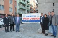 Başkan Özakcan Yol Çalışmalarını Yerinde İnceledi