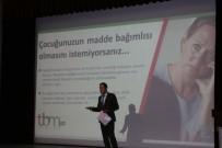 MADDE BAĞIMLISI - Belediye Çalışanlarına Madde Bağımlılığı Semineri