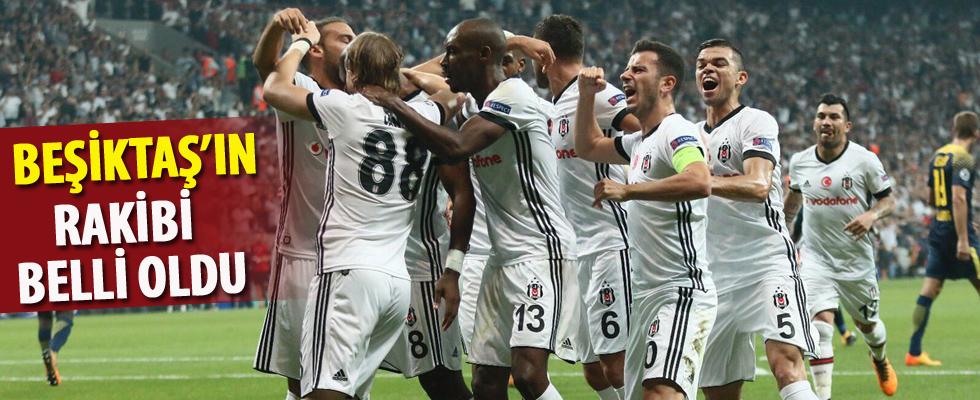 Beşiktaş'ın Şampiyonlar Ligi'ndeki rakibi belli oldu