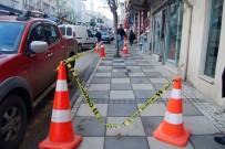 KAPAKLı - Binadan Düşen Beton Parçası Öğretmeni Ağır Yaraladı