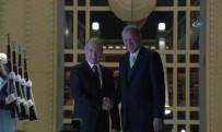 RUSYA FEDERASYONU - Cumhurbaşkanı Erdoğan, Putin'i Külliyede Karşıladı