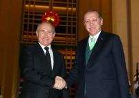 RUSYA FEDERASYONU - Cumhurbaşkanı Erdoğan, Rusya Devlet Başkanı Putin'i Külliyede Karşıladı