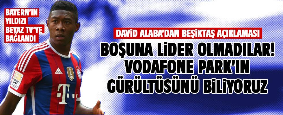 Bayern'in yıldızı David Alaba Derin Futbol'a konuştu
