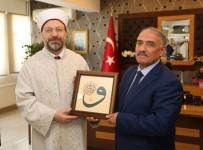 YıLMAZ ŞIMŞEK - Diyanet İşleri Başkanı Prof. Dr. Erbaş, Niğde Belediye Başkanı Özkan'ı Ziyaret Etti