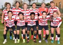 HÜSEYIN TÜRK - Döşemealtı Kadın Futbol Takımı, 3 Puanı 3 Golle Aldı