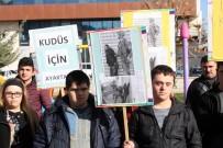 BEYAZ AY DERNEĞI - Down Sendromlulardan 'Sessiz Kudüs Protestosu'