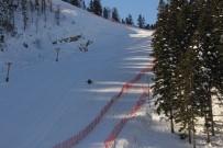 ÇORUH - Elektrikler Olmayınca Kayak Merkezi Kızak Merkezi Oldu