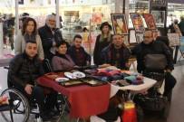 EL SANATLARI SERGİSİ - Engellilerden Resim Ve El Sanatları Sergisi