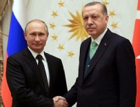 RUSYA FEDERASYONU - Erdoğan- Putin görüşmesi sona erdi