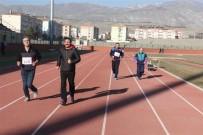 SAĞLIKLI YAŞAM - Erzincan'da Masterler Ve Veteranlar Atletizm Yarışmaları Yapıldı