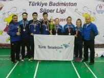 BADMINTON - Erzincan Türk Telekom Spor Süper Ligin İkincisi