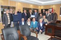 MUSTAFA AYDıN - Eski Meslektaşlardan Tekirdağ İl Emniyet Müdürüne Ziyaret
