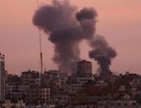 SAVAŞ UÇAĞI - İsrail ordusu yine Gazze'yi vurdu