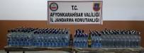Jandarma 254 Şişe Kaçak İçki Ele Geçirdi