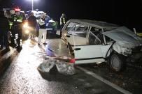 Karabük'te Feci Kaza Açıklaması 2 Ölü, 1 Yaralı