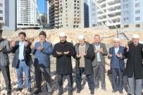 İSMAIL ÇIÇEK - Mardin'de Cami Temeli Dualarla Atıldı