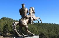 FıNDıKPıNARı - Mezitli'nin Zirvesine Atatürk Anıtı