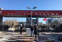 ADLİ TIP KURUMU - Öldürülen Ünlü  Yönetmen Mustafa Kemal Uzun'un Adli Tıptaki İşlemleri Sürüyor