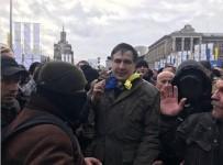ADLİYE BİNASI - Saakaşvili'ye Adliye Önünde Destek Gösterisi