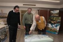 ALTıNOK ÖZ - Sanatçı Mehmet Aslantuğ, Başkan Altınok Öz'e Konuk Oldu