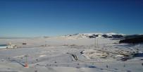 KAYAK MERKEZİ - Sarıkamış Cıbıltepe Kayak Merkezi Havadan Görüntülendi