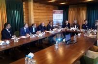 SÜLEYMAN ELBAN - SERKA Yönetim Kurulu Toplantısı, Sarıkamış Kütük Ev'de Yapıldı