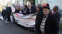 ULUDAĞ ÜNIVERSITESI - Üniversitede Düzenlenen Kudüs Eylemine Öğrenciler İlgi Göstermeyince Yaşlılar Katıldı