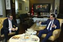AZERBAYCAN - Yeni Büyükelçiden, Başkan Ak'a Ziyaret