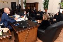 ALİ KORKUT - Ak Parti Genel Merkez Kadın Kolları MYK Üyesi M.Belma Erdoğan, Başkan Korkut'u Ziyaret Etti (Düzeltme)