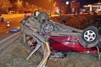 KÖPRÜLÜ - Antalya'da Trafik Kazası Açıklaması 1 Ölü, 3 Yaralı