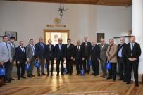 OSMAN GÜRÜN - Aydın Şoför Esnafından Başkan Gürün'e Ziyaret