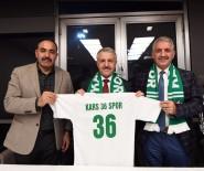 SELAHATTIN BEYRIBEY - Bakan Arslan'dan Kars 36 Spor'a Ziyaret
