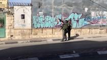 BIÇAKLI SALDIRI - Batı Şeria'daki Gösterilerde 36 Filistinli Yaralandı