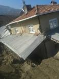 TERMİK SANTRAL - Bolu'da Heyelandan Zarar Gören 5 Ev Boşaltıldı
