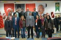HÜSEYIN ÇAMAK - CHP Mut İlçe Başkanlığına Günay Yeniden Seçildi