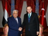 BEYLERBEYİ SARAYI - Cumhurbaşkanı Erdoğan, Filistin Devlet Başkanı Abbas'la Görüştü