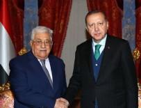 MAHMUT ABBAS - Cumhurbaşkanı Erdoğan, Mahmud Abbas görüşmesi sona erdi