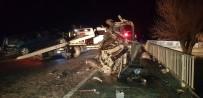 DUMLUPıNAR ÜNIVERSITESI - Gediz'deki Trafik Kazasında Ağır Yaralanan Şahıs Hastanede Hayatını Kaybetti