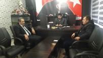İBRAHİM ASLAN - İl Genel Meclis Başkanı Erdoğan AGAD Başkanı Aslan İle Bir Araya Geldi