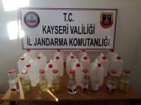 VOTKA - Kayseri'de Sahte İçki Operasyonu