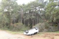 ACıSU - Manavgat'ta Trafik Kazası Açıklaması 2 Yaralı