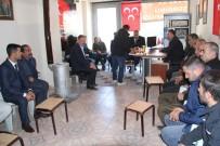 MUHAMMET FUAT TÜRKMAN - MHP İl Başkanı Özbek Şemdinli'de