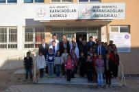 KARACAOĞLAN - Musabeyli İlçesinde Okul İnşaatları Devam Ediyor