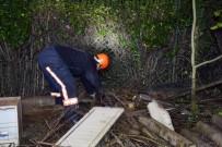 GÜVENLİK GÖREVLİSİ - (Özel) Fiber Optik Kablo Tüneline Düşen Yavru Köpek Kurtarılamadı