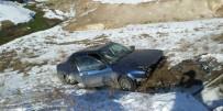 KARAKURT - Sarıkamış'ta Trafik Kazası Açıklaması 2 Yaralı