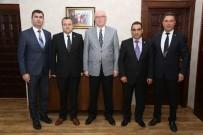 KAZıM KURT - Tüm Yerel Sen'den Başkan Kurt'a Ziyaret