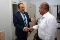 ASKERLİK ŞUBESİ - Vali Pehlivan, Askerlik Şubesi'ni Ve İl Milli Eğitim Müdürlüğü'nü Ziyaret Etti