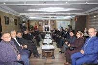 BAYBURT MERKEZ - AK Parti Merkez İlçe Yönetiminden Başkan Memiş'e Ziyaret