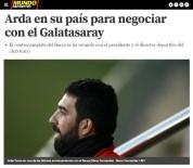 MONACO - Arda Turan, Galatasaray İle Masaya Oturdu İddiası